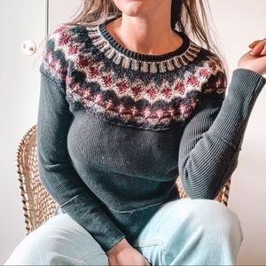 Free People Swoop Neck Knit Thermal